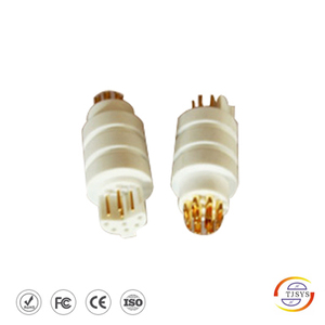 4pin 6 socket connector (white )