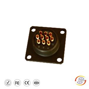 10针10孔普利门电池组接插件